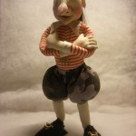 кукла тряпичная пират