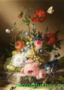 С цветами
