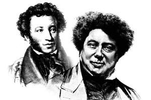 Пушкин и Дюма