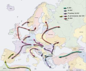 Переселение цыган
