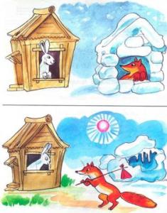 Русские народные сказки. Заюшкина избушка.