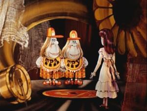 Алиса в стране чудес Зазеркалье