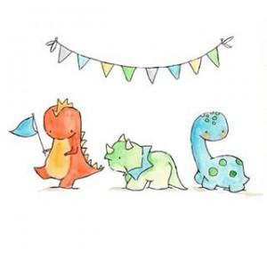 день рождения динозавров